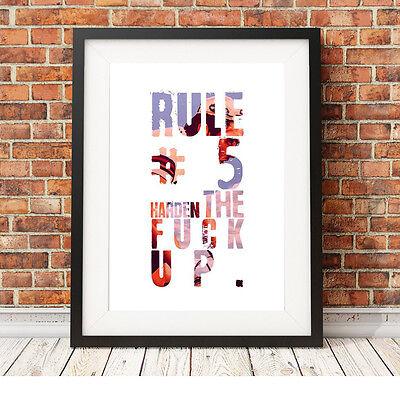 Bello Eddy Merckx Ciclismo ❤ ❤ Regola 5 Poster Stampa In Edizione Limitata 5 Taglie #11-