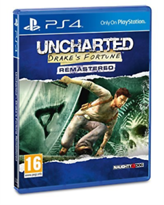 Playstation-4-UNCHARTED-DRAKES-FORTUNE-UK-IMPORT-GAME-NEW