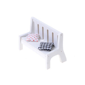 1pc-Garden-Bench-Dollhouse-Miniature-Furniture-1-12-Scale-Wood-w-Cushions-M-JO