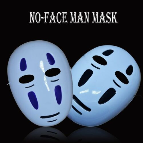 Japanese Anime Spirited Away No-Face Man Mask Cool Party Cosplay Cute Costume