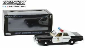 Greenlight-84101-Dodge-Monaco-Modelo-de-Policia-Metropolitana-de-Terminator-1-24