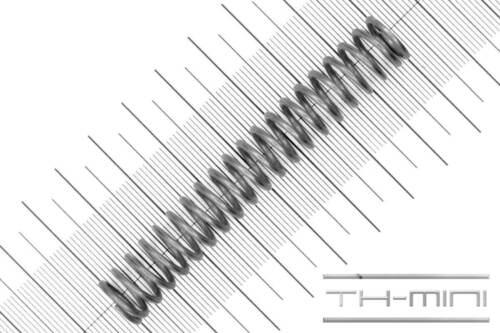 Druckfeder Drahtstärke: 1,5mm Außen Ø: 12,5mm Länge: 80,9mm Edelstahl