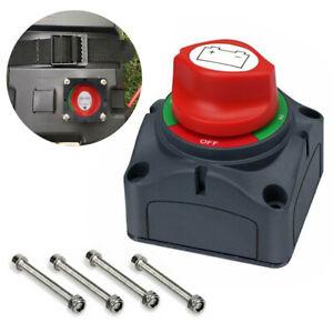 Battery-Isolator-Switch-Cut-Off-Disconnect-Power-Kill-600A-Key-RV-Car-Van-Boats