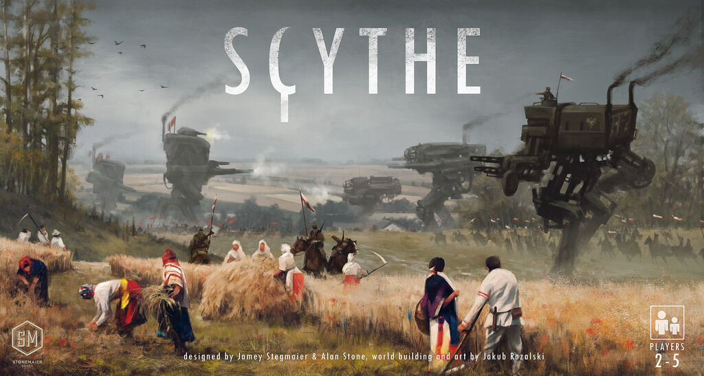 MW  SCYTHE BOARD GAME 2016 -ENGLISH-   STONEMAIER GAMES