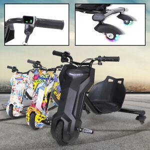 Drift-Scooter-360-E-Scooter-Drifting-GoKart-Kinder-Elektroauto-Dreirad-cart-Bike