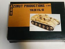 ADV AZIMUT Productions - resin kit - Toldi Tank I, IIa & III  - 1/35