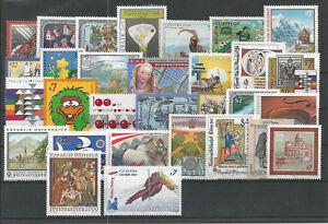 Osterreich-Jahrgang-2000-postfrisch-komplett