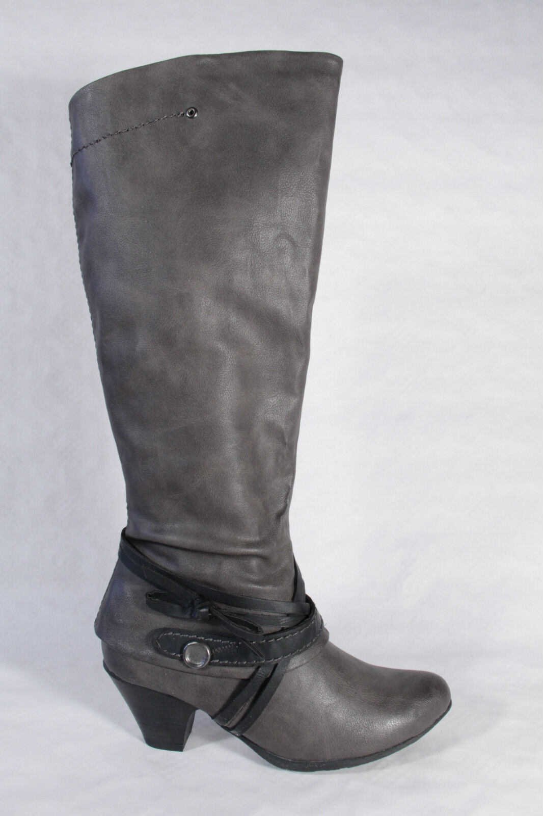 MARCO TOZZI Boots, Grey, Lightly Lined, RV, NEW