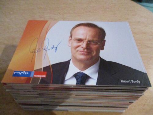 61362 Robert Burdy TV Musik Film original signierte Autogrammkarte