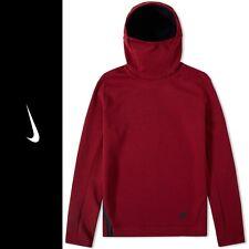 Nike TECH collo alto in pile rosso-Regno Unito misura Large