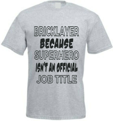 Fun Shirt électricien parce que archtekten héros ont besoin de construction T-Shirt Cadeau