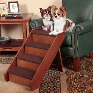 b81f7762b0b Pet Stairs Dog Steps Large Wood 20