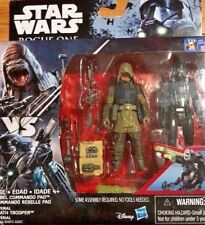 STAR WARS ROGUE ONE IMPERIAL DEATH TROOPER with DUAL ROCKET LAUNCHER LOOSE 3.75/""