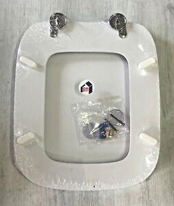 Sedile Wc Dolomite Rio.Sedile Copriwater Wc Dolomite Mod Rio Resina Poliestere Legno Italy Ebay