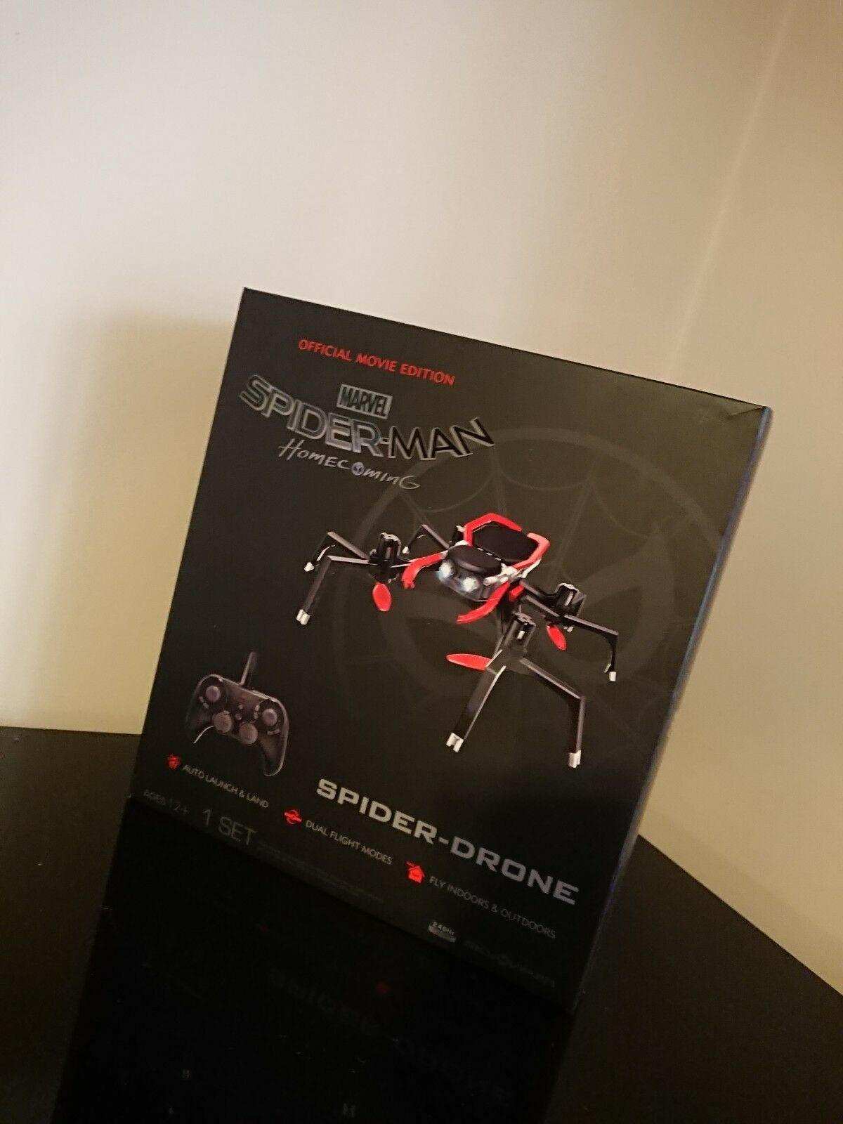 Marvel Spider-Man Homecoming Spider-Drone Official Quadcopter - Spiderman