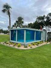 Shipping Container Swimming Aquarium Pool 40ft X 12ft X 8ft Tall