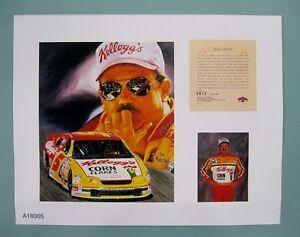 Terry-LaBonte-1997-Nascar-11x14-Lithograph-Print-scare