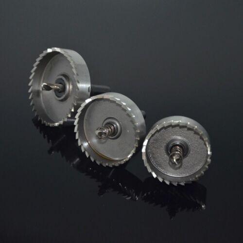 65mm HSS Metal Holesaw Stainless Steel Drill Bit Hole Saw Cutter Aluminum 12mm