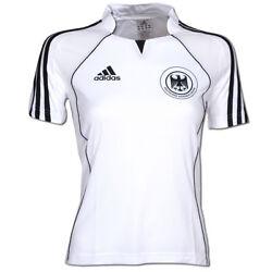 adidas Damen Sportshirt Shirt Climacool DHB Trikot weiß-schwarz