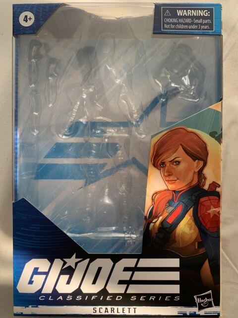 "BOX Hasbro Gi Joe Classified 6"" Scarlett  BOX ONLY"