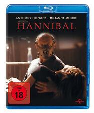 HANNIBAL Uncut - Ridley Scott ANTHONY HOPKINS Julianne Moore BLU-RAY Neu