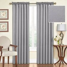 "Eclipse Samara Blackout Energy-Efficient Thermal Curtain Panel Gray 42""Wx84""L"