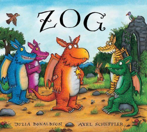 1 of 1 - Zog by Donaldson, Julia 1407132334 The Cheap Fast Free Post