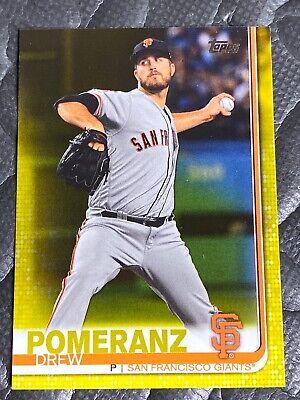 2019 Topps Update #US77 Drew Pomeranz San Francisco Giants Baseball Card
