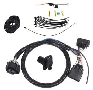 [FPWZ_2684]  7-Way Trailer Wiring Harness Kit For 19-20 Ford Ranger RV Round Connector |  eBay | Ford Trailer Wiring Harness Kit |  | eBay