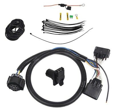 7 round wiring harness 7 way trailer wiring harness kit for 19 20 ford ranger rv round  7 way trailer wiring harness kit for 19