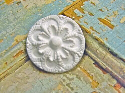 SHABBY n CHIC ROSETTES ( 4 PC ) * FURNITURE APPLIQUES *