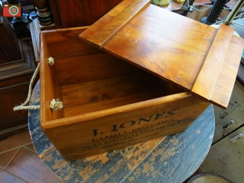 DAD/'S ARMY A VINTAGE ANTIQUE STYLE CRATE GREAT GIFT J.JONES BUTCHER BOX
