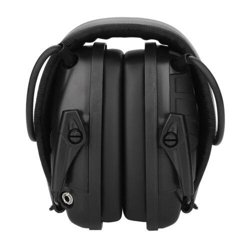 Nouveau Cache-oreilles de Tir Electronique  Avec  Amplification du  Son  Sportif