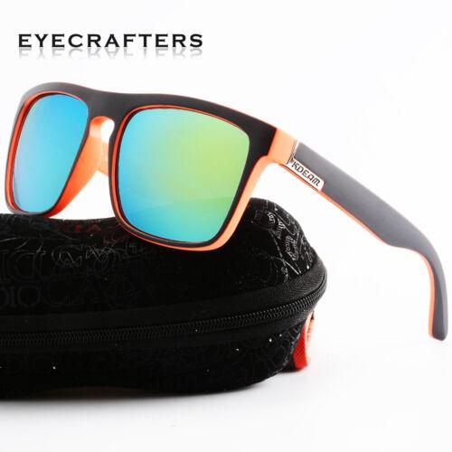 Kdeam Polarized Sunglasses Retro Square Outdoor Sport Cycling Helm Sun Glasses 4