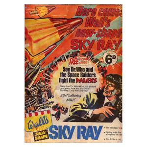 Classic Walls Skyray Lolly Metal Sign Vintage Garage Daleks Dr Who Garden Plaque Petit Profit
