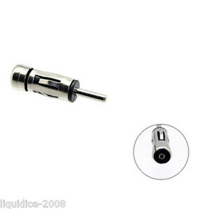 ISO TO DIN RENAULT CLIO 1998 ONWARDS REPLACEMENT AERIAL ANTENNA ADAPTOR