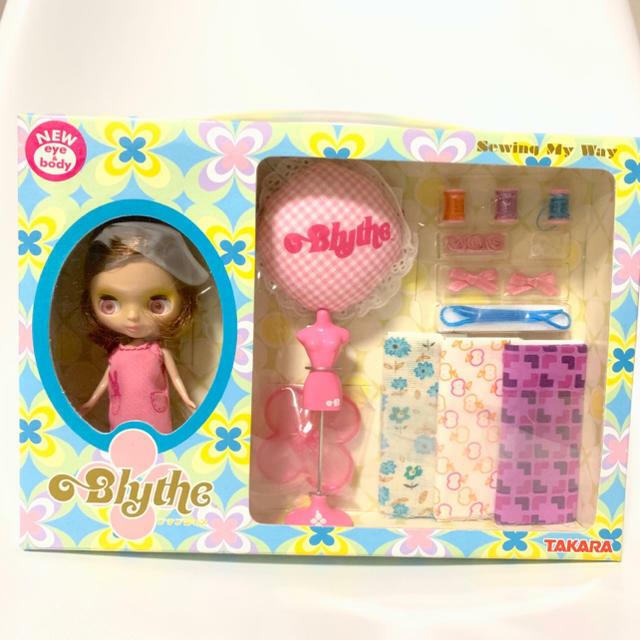 Petite Blythe Doll Coser a mi manera rosado Takara Nuevo difícil de encontrar de Japón F S