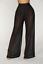 thumbnail 12 - Women See Through Boho Wide Leg High Waist  Beach Long Loose Mesh Sheer Pants