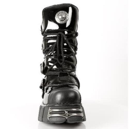 Nr Noir Newrock Unisexe New 313 Rock Bottes S1 Boots M wadrdvqI