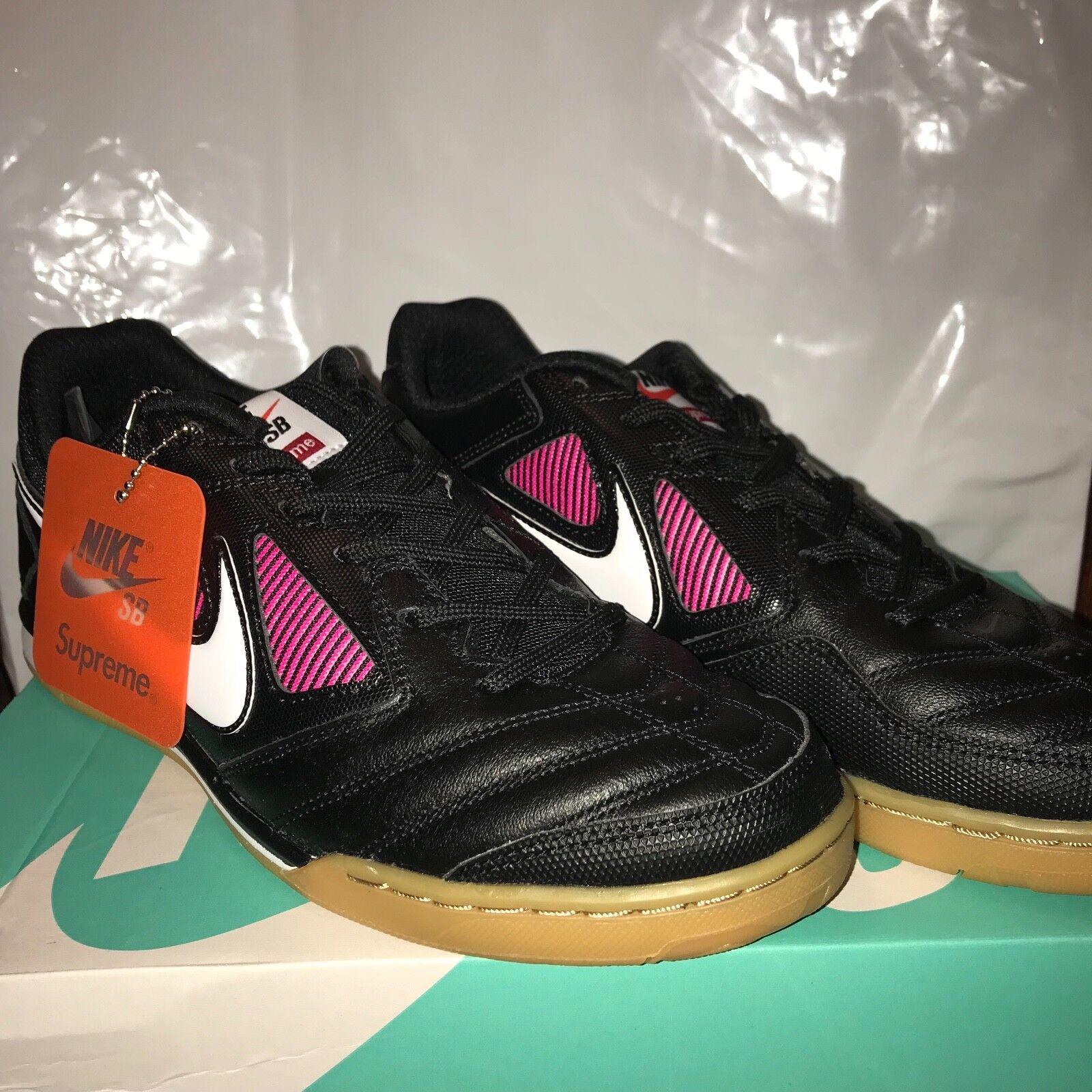 Supreme X Nike SB Gato - Black Purple - US Mens Size 8 - Send Offers