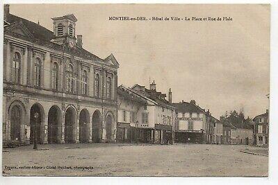 Montier En Der Haute Marne Cpa 52 Hotel De Ville - Rue De L'isle Le Familistere Exquise Vakmanschap;