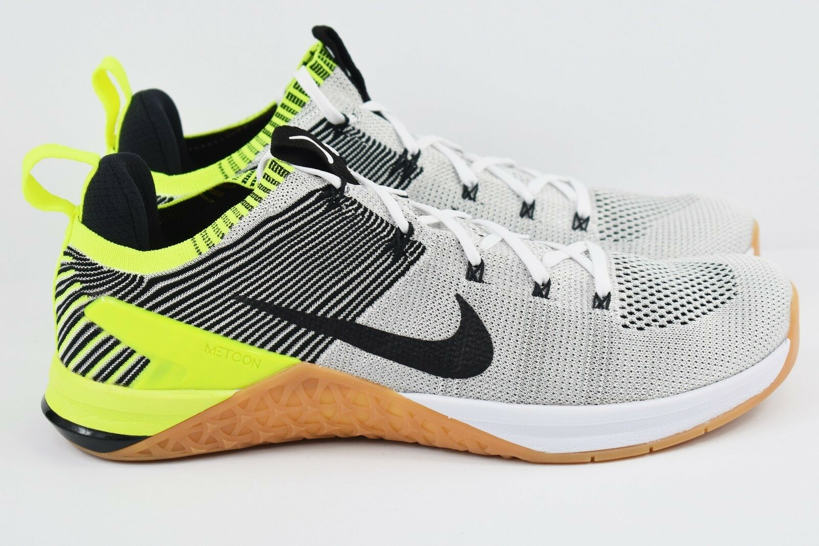 Nike Metcon DSX Flyknit 2 Mens Size 12 Shoes Grey Training Shoes 12 924423 107 Rare e9001a