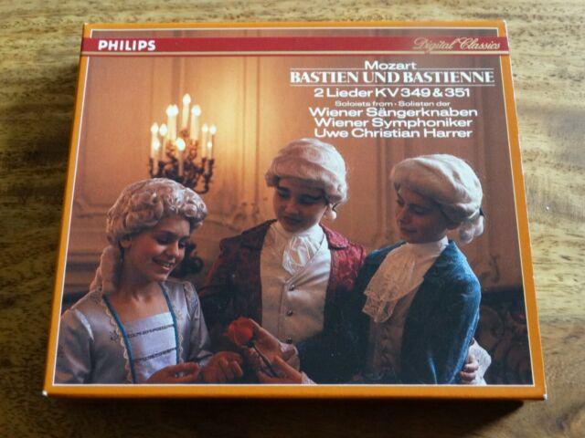UWE CHRISTIAN HARRER : Mozart - Bastien und Bastienne  > NM (CD)