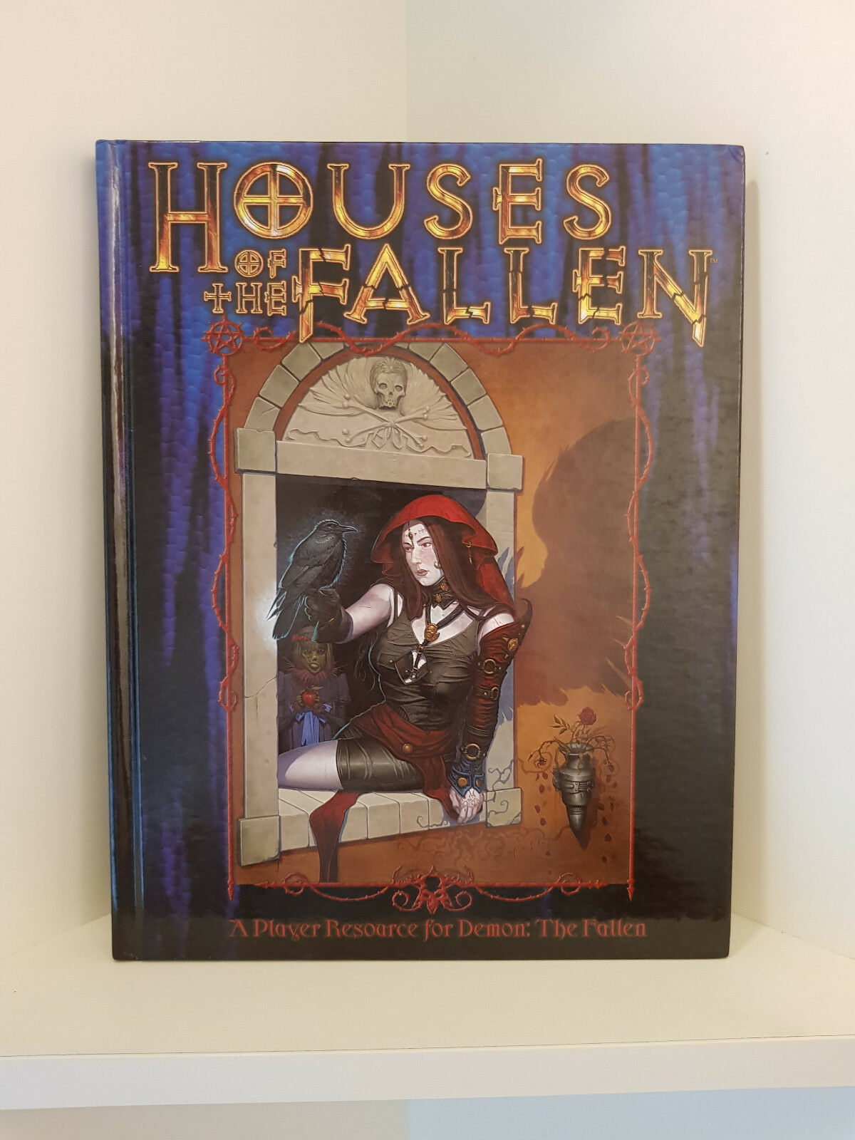 Houses of the Fallen, Demon  The Fallen, Hardcover, RPG, blanc Wolf
