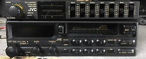 Old-School-JVC-KS-RX750-Cassette-Player-And-KS-EA400-Graphic-EQ-Amplifier-RARE