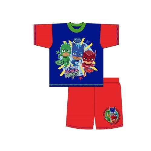 Boys Kids Children Toddler PJ Masks Catboy Owlette Gekko Pjs Pyjamas Age 1,5-5Y