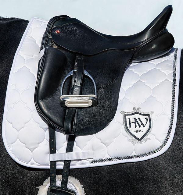 Horseware Ireland Ireland Ireland Rambo Diamante dressage sella pad DPAD 5P | Design ricco  | Più economico del prezzo  410e91