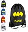 Personalised-Drawstring-Bag-BATMAN-School-Gym-PE-Kit-Sport-Boys thumbnail 1