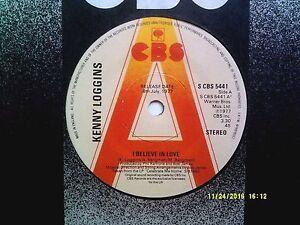 KENNY-LOGGINS-I-BELIEVE-IN-LOVE-7-034-PROMO-SINGLE-1977-N-MINT