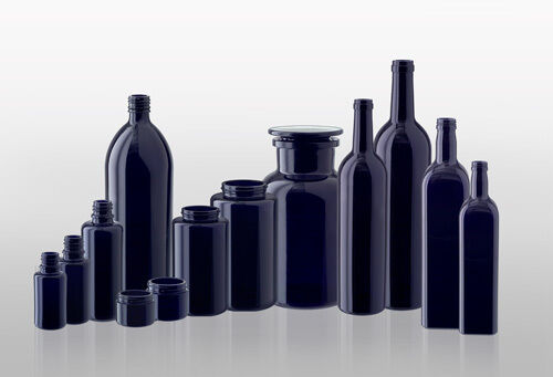 Miron violettglas pour thé, herbes, eau, kosemtik u.a (mironglas)